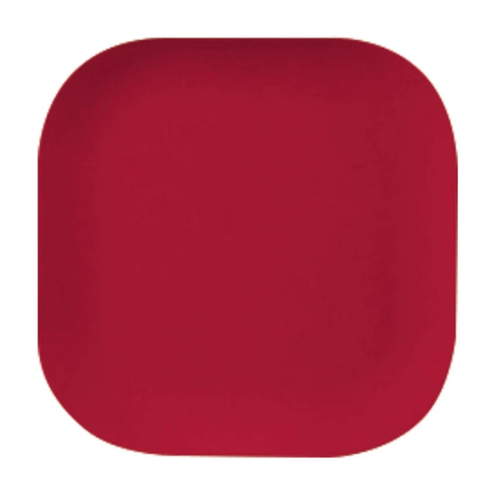 Red Bamboo Plate 26cm