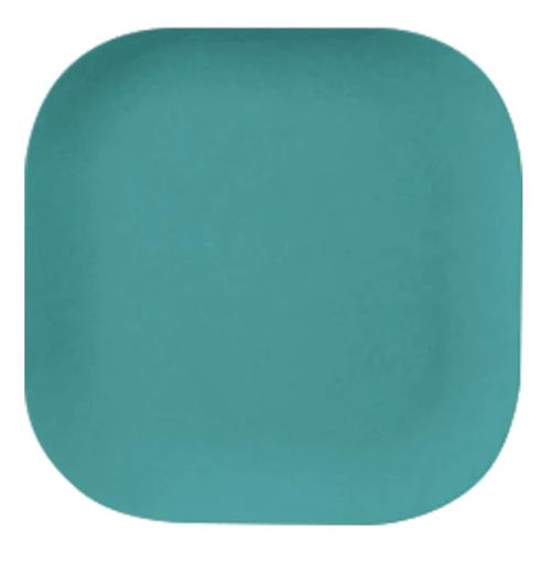 Green Bamboo Plate 26cm