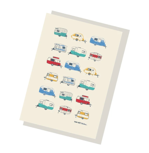Coloured Caravans Gift Card