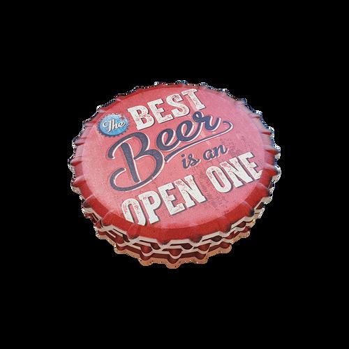 Bottletop Beer Coasters / Set 4
