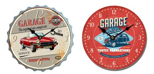 Iron Decorative Garage Clock