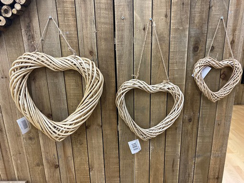 Rattan Heart: Large