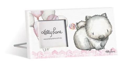 Lollipop Wombats Photo Frame 20x10cm