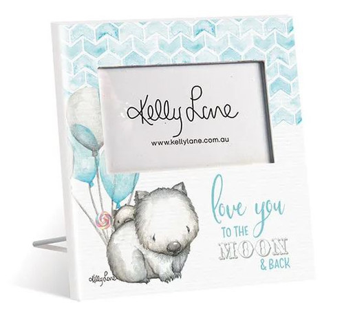 Square Wombats Photo Frame 20x20cm