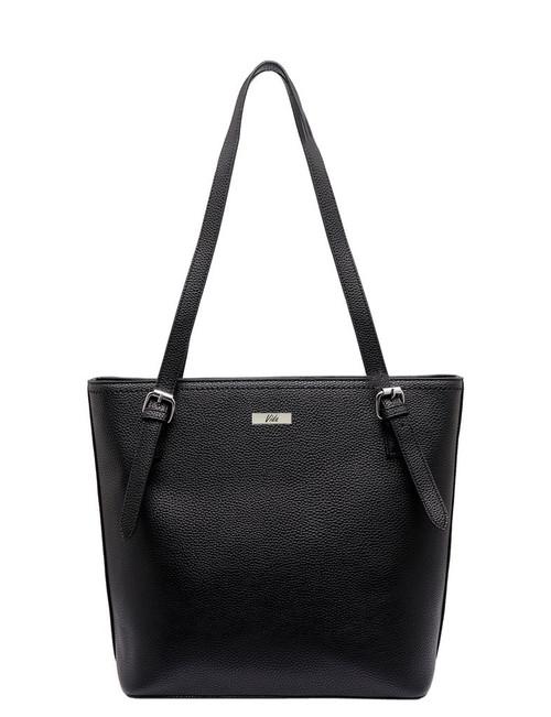 Dallas Vida Vegan Leather Bag / Black