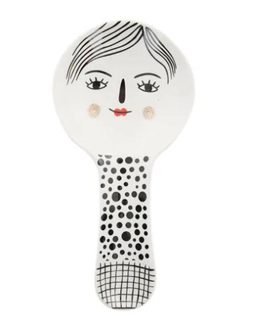 Nancy Ceramic Spoon Rest