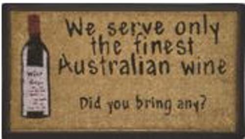 Australian Wine Doormat
