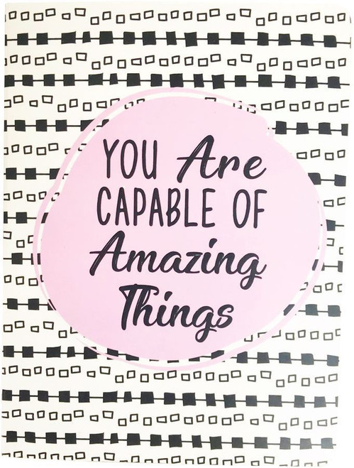 You Are Capable A6 Journal