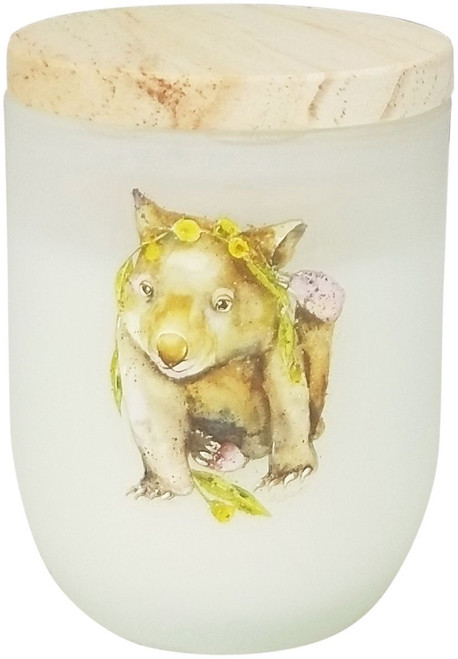 Wombat Eucalyptus/Cucumber Candle