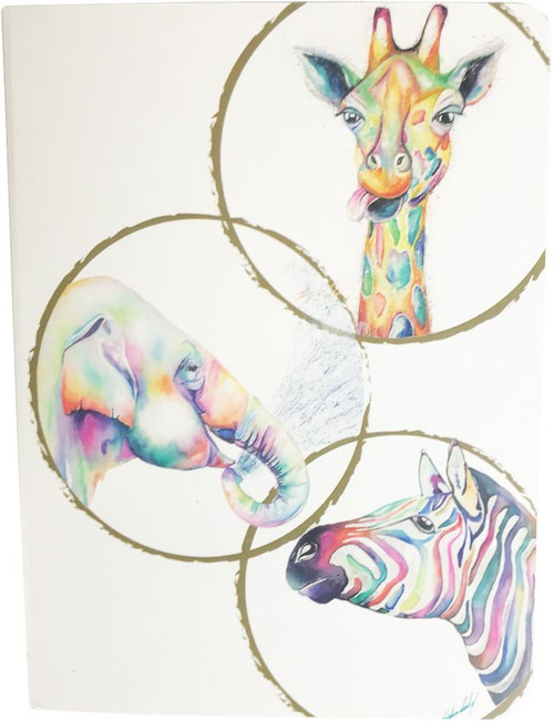 Watercolour Zoo Journal