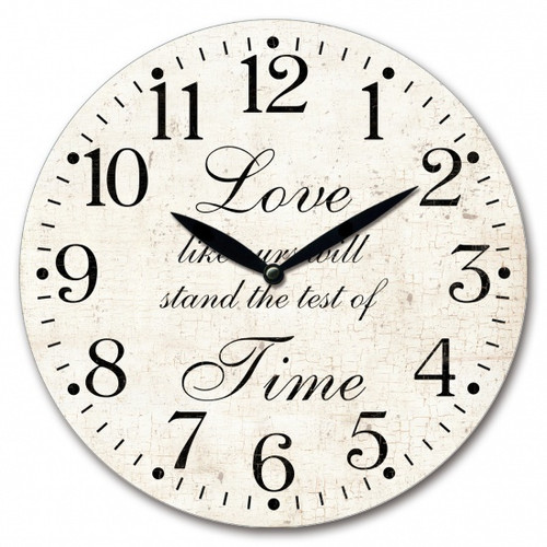 Love Like Ours Wall Clock