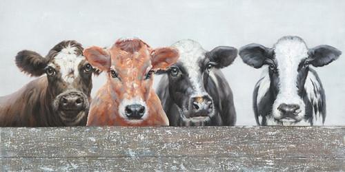 Four Cows Canvas