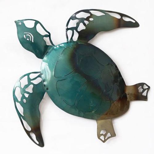 Raphael Turtle Metal Wallart