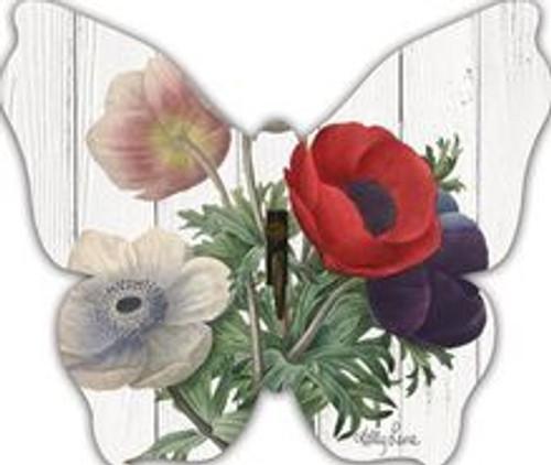 Poppy Butterfly Wall Hook