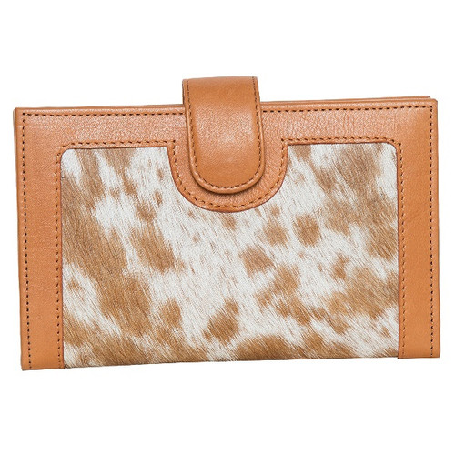 Large Ladies Cowhide Wallet – Los Angeles