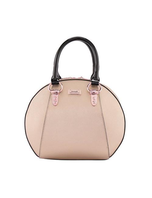 Panama Leather Bowling Bag