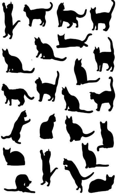 Cats Teatowel