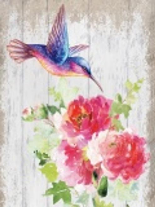 Humming Bird Canvas/ Pink Bird