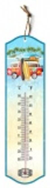 Metal Kombi Van Thermometer
