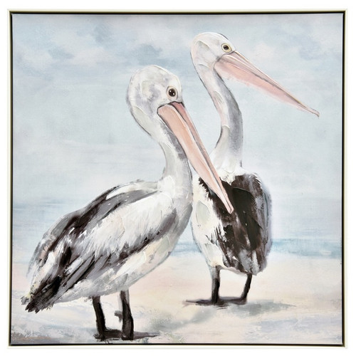 Pelican Duo Painting
