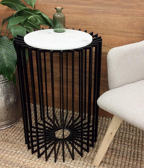 Majestic Deco Marble Top Table
