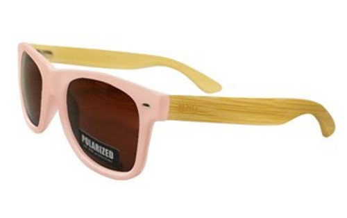 Pink Sunnies w/Brown Lens