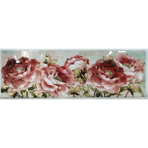 Roses Hand Painted Canvas 150cm