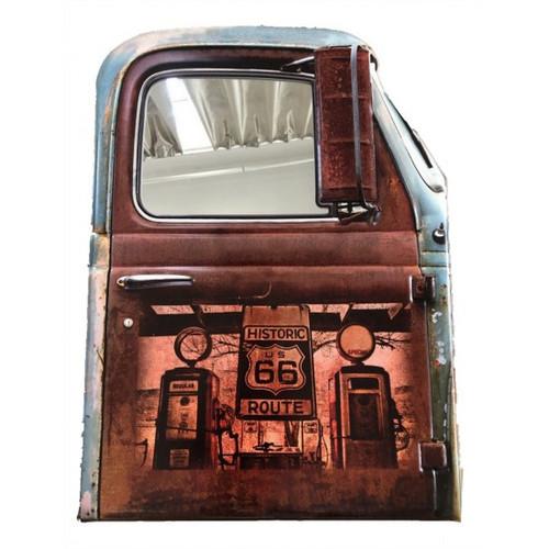 Rustic Car Door Mirror