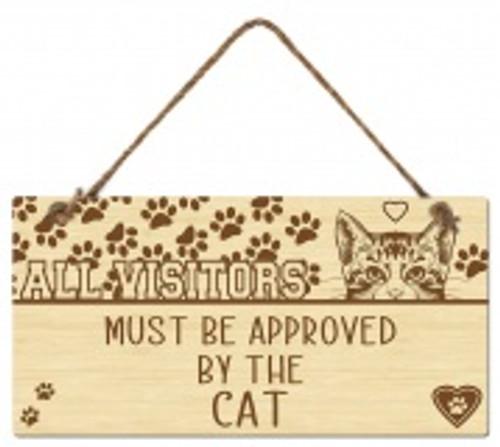 All Visitors- Cat Sign