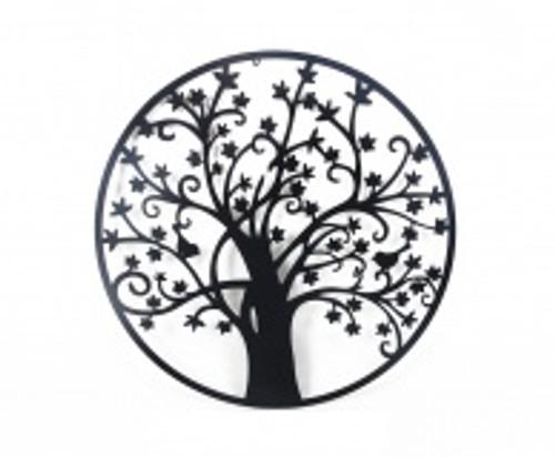 Tree Of Life Round Metal Wallart 80cm