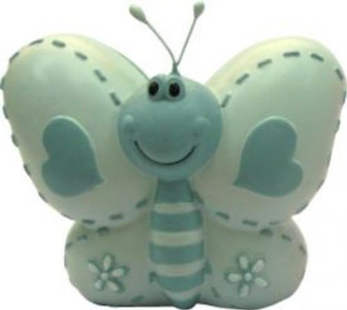 Blue Butterfly Money Box
