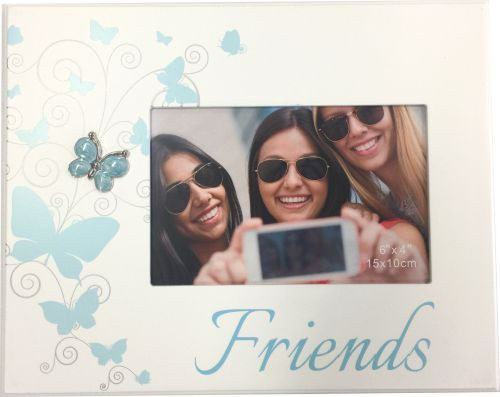 Friends Photo Frame- Blue Butterfly