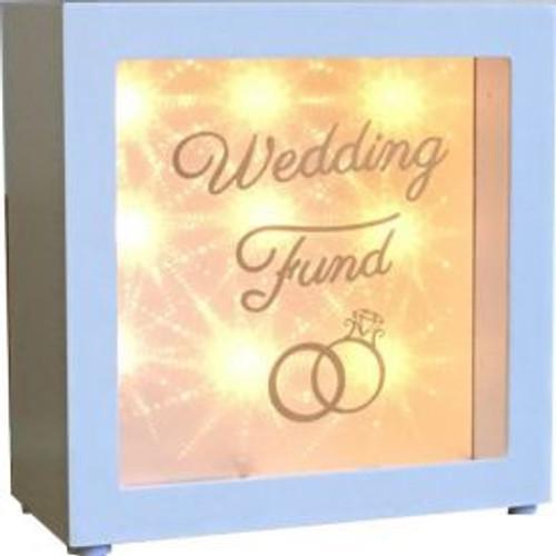 LED Wedding Fund Money Box