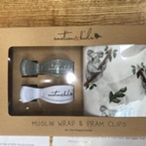 Koala Muslin Wrap Set