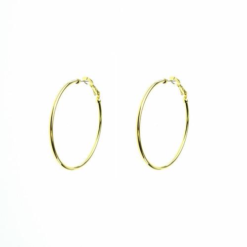 Basic Gold Hoops