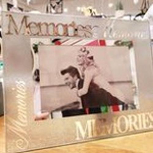 Memories Photo Frame- Silver