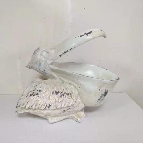Pelican Planter White
