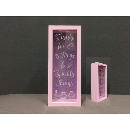Sparkly Things Money Box