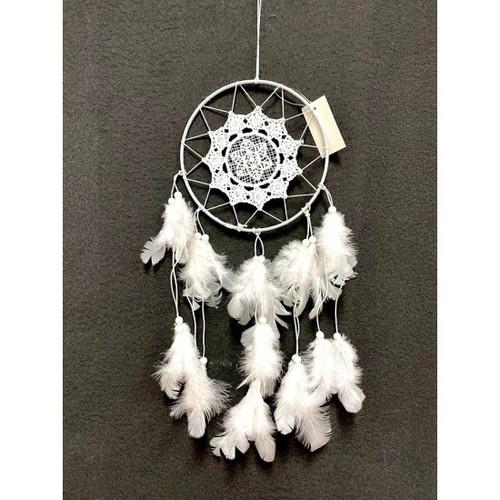 White Feather Dream Catcher