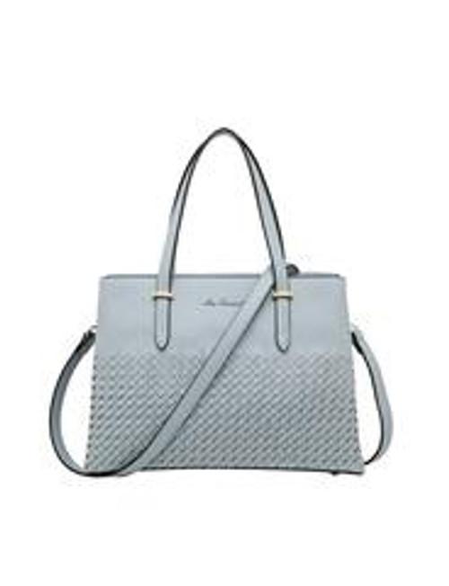 Addison Woven Detail Handbag