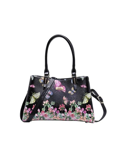 Alisa Triple Compartment Handbag