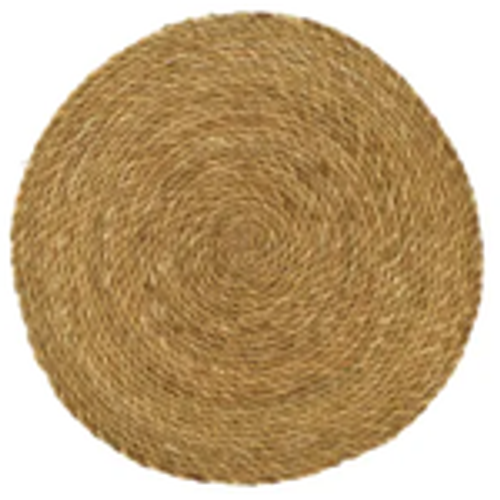 Natural Seagrass Placemat 35cm