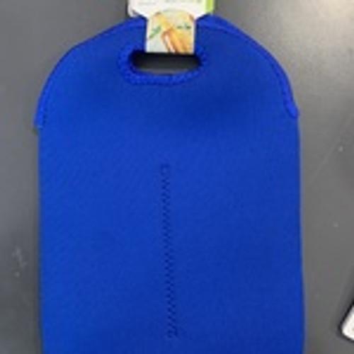Blue Twin Bottle Cooler Bag