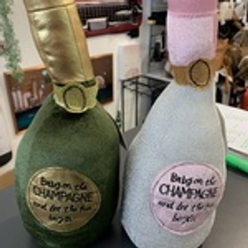 Moet Champagne Doorstop