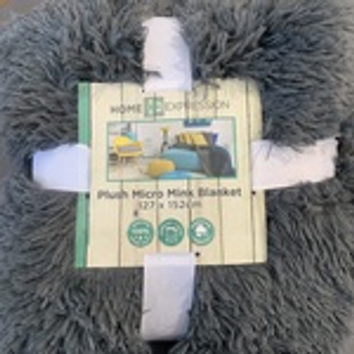 Plush Micro Mink Shaggy Blanket