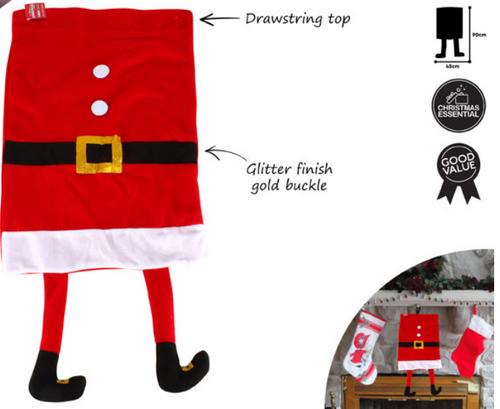 Santa Sack With Legs
