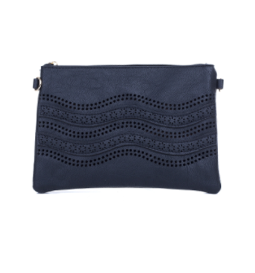 Black Dots Design Crossbody Bag
