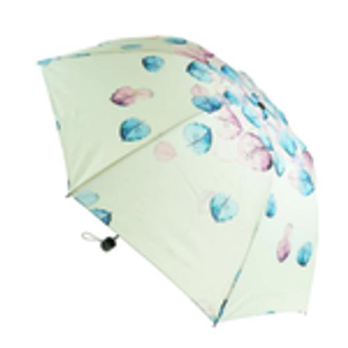 Cream Leaves Umbrella