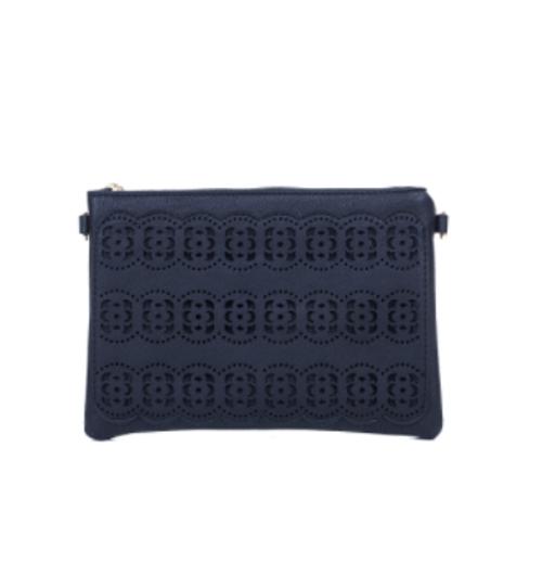 Dotted Circle Design Crossbody Bag