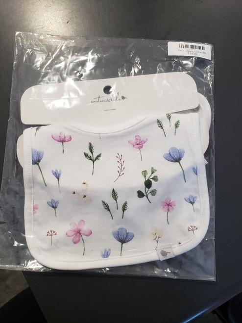Fleur Organic Cotton Bib